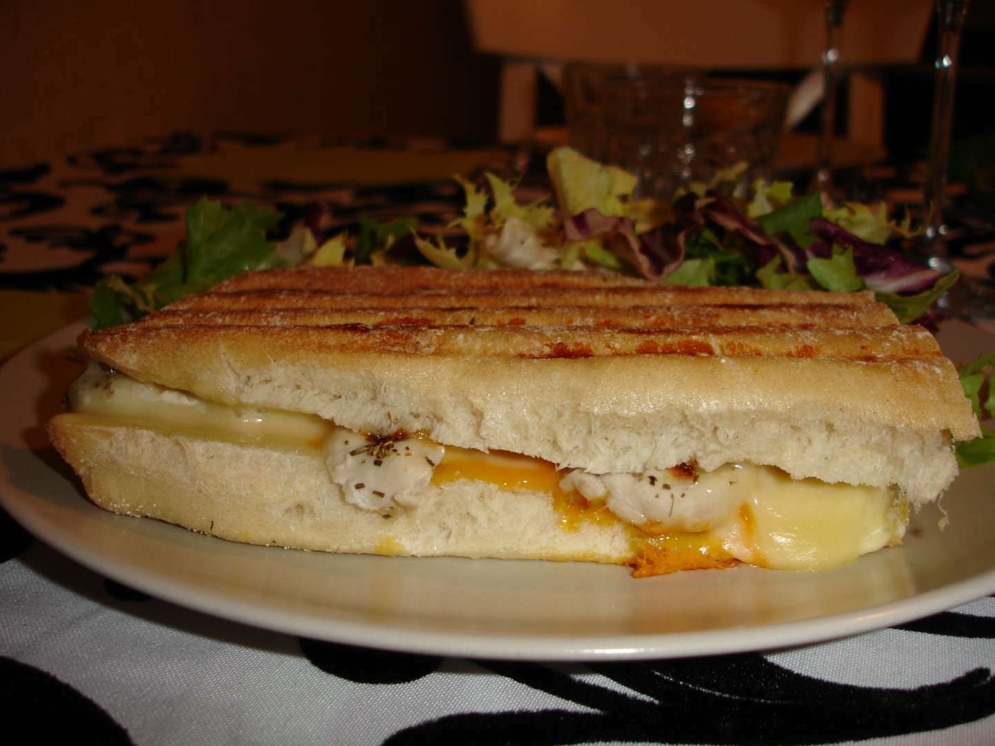 Paninis Poulet Fromage Recette Ptitchef