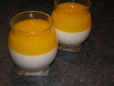 Panna cotta la noix de coco et son coulis de mangue recette ptitchef - Panna cotta noix de coco ...