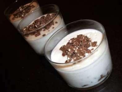 panna cotta au lait de coco et toblerone recette ptitchef. Black Bedroom Furniture Sets. Home Design Ideas
