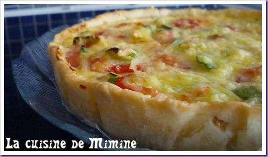 Pate Brisee Express Pour Une Quiche Thon Tomates Et Pois Gourmands