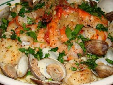 P tes fra ches aux fruits de mer la st valentin chez les gagnon recette ptitchef - Pates aux fruits de mer recette italienne ...