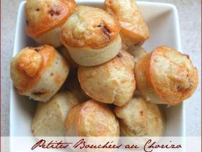 Petites bouch es au chorizo pour ap ritif sympa recette ptitchef - Petites cuilleres aperitives pour apero sympa ...