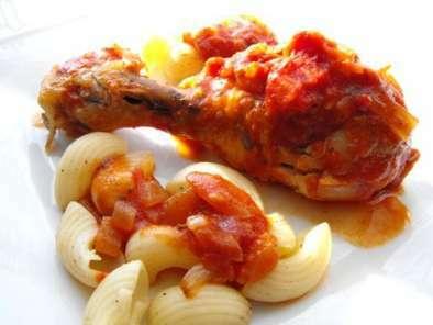 Pilons de poulet aux tomates recette ptitchef - Pilon de poulet a la poele ...