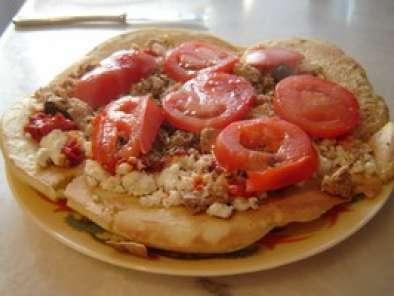 Pizza A La Poele Quand L Italie Sonne A La Porte Des Sans Four Recette Ptitchef