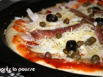 Pizza au thon & anchois ou câpres & anchois, Photo 5