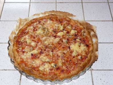 pizza tomate fromage jambon