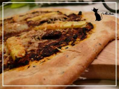 Pizza Magret Ananas Chevre Recette Ptitchef
