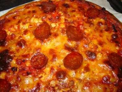 Pizza Maison Pate A La Map Recette Ptitchef