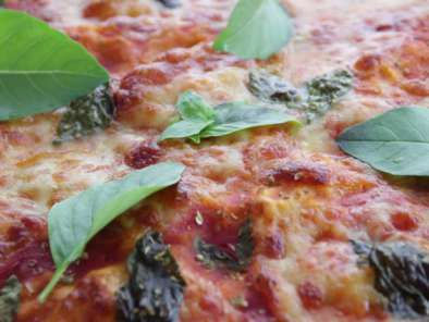 Pizza Margherita moelleuse, photo 2