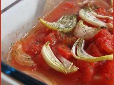 Poisson tomate , romarin, recette légère et ultra rapide