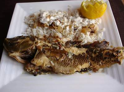 Poissons au four et mur ne grill e recette ptitchef - Recette poisson grille au four ...