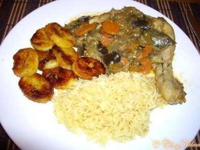 Poulet A L Africaine Facon Kikou Recette Ptitchef