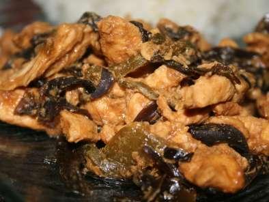 Poulet asiatique aux champignons noirs recette ptitchef - Cuisiner des blancs de poulet moelleux ...