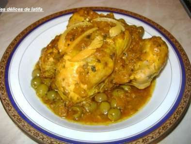 poulet aux olives et au citron, Photo 2
