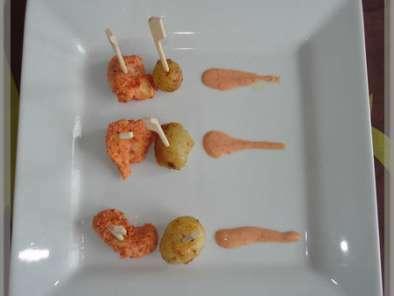 poulet tandoori et pomme de terre nouvelles recette ptitchef. Black Bedroom Furniture Sets. Home Design Ideas
