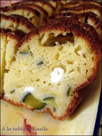 Pour repas froid ou ap ritif cake courgette ch vre for Froid statique ou froid ventile