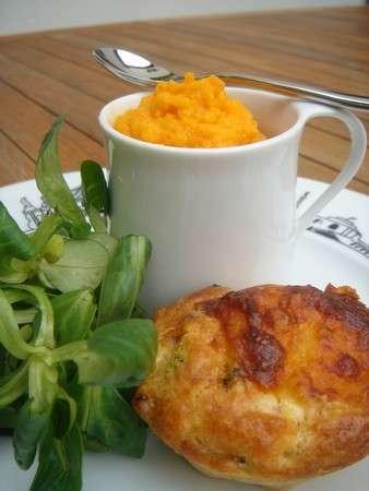Pur e de carottes au curcuma accompagnement chic et choc - Puree de carotte maison ...