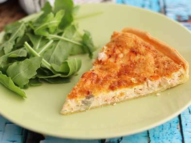 Quiche au saumon facile et rapide, photo 2