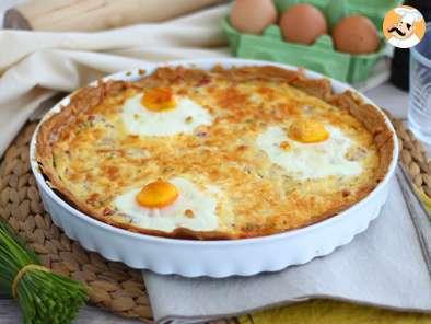 Quiche Aux œufs Et Au Jambon Recette Ptitchef