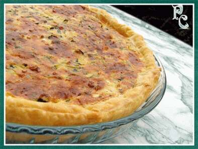 quiche de courgettes au thon recette ptitchef. Black Bedroom Furniture Sets. Home Design Ideas
