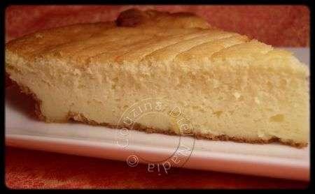 (re) cheesecake ou tarte au fromage blanc sans pâte ...