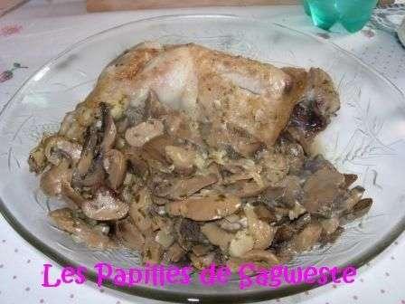 Recette de cuisse de dinde aux champignons recette ptitchef - Comment cuisiner des cuisses de dinde ...
