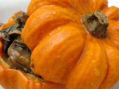 Recette Halloween : champignons gourmands au curry