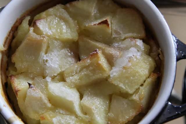 recette mini clafoutis aux pommes en cocotte recette ptitchef