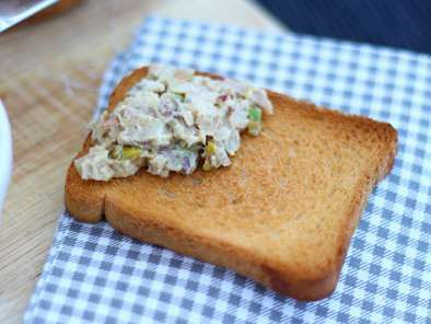 Rillettes de poulet moutarde pistache, Photo 4
