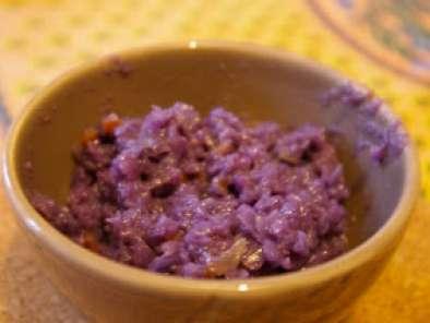 Risotto Au Chou Rouge Recette Ptitchef - Cuisiner du chou rouge