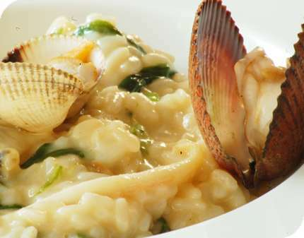 risotto de fruits de mer recette ptitchef. Black Bedroom Furniture Sets. Home Design Ideas