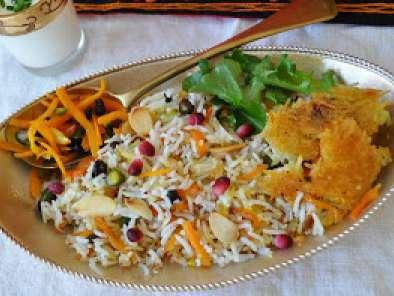 Riz à Liranienne Et Sa Technique De Cuisson En Cocotte Recette - Cuisine iranienne