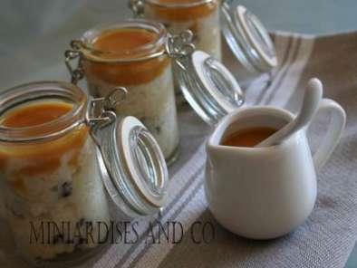 riz au lait pepites de chocolat etcaramel au beurre sale. Black Bedroom Furniture Sets. Home Design Ideas