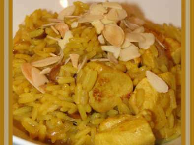 Riz sauté au poulet et au curry, Photo 2