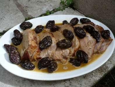 Rôti de porc aux pruneaux et en cocotte, Recette Ptitchef