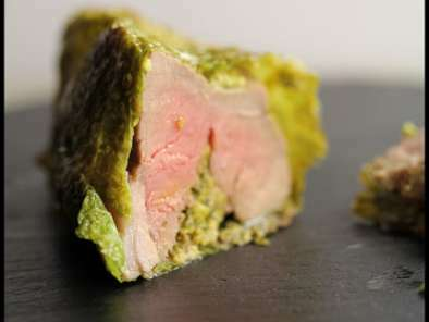 L Agneau Du Connemara Rotis de gigot d'agneau du connémara en habit vert, Recette Ptitchef