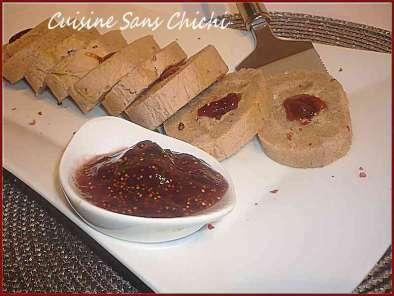 confiture de figues pour foie gras thermomix