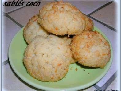 sables a la noix de coco recette ptitchef