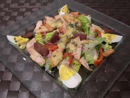salade c sar au poulet recette ptitchef. Black Bedroom Furniture Sets. Home Design Ideas