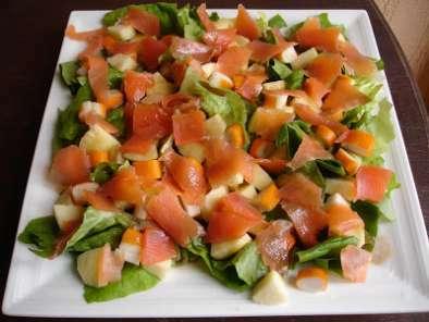 salade compos e au saumon fum recette ptitchef. Black Bedroom Furniture Sets. Home Design Ideas