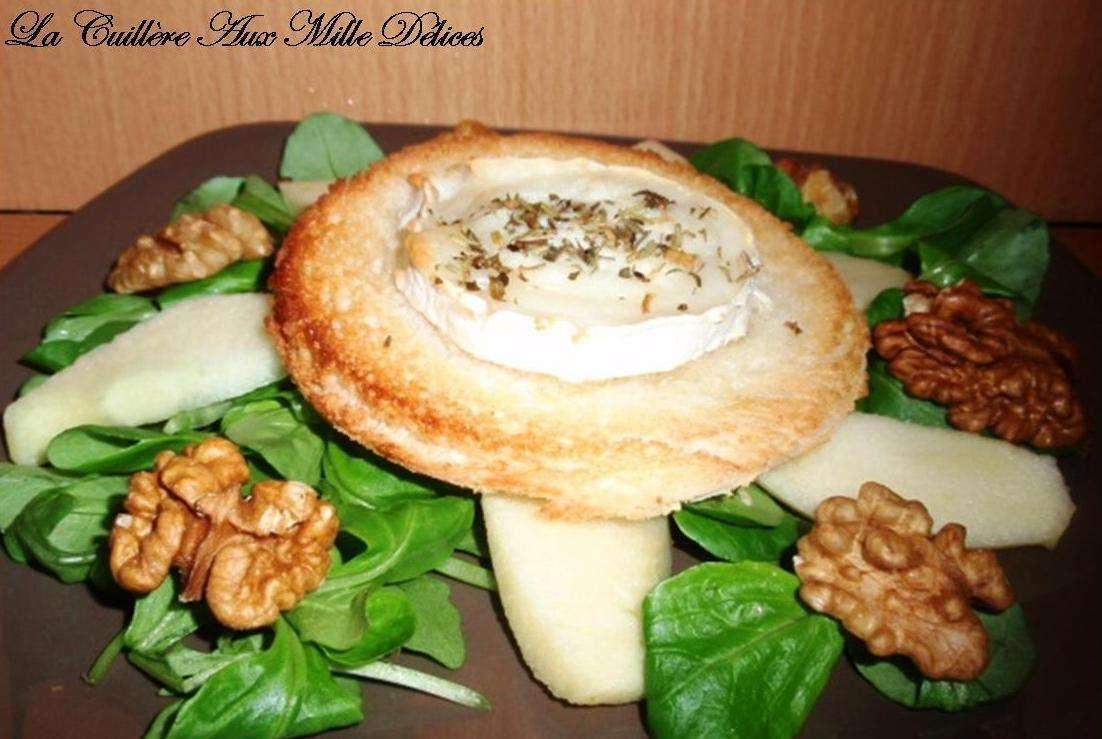 Salade De Ch 232 Vre Chaud Aux Noix Recette Ptitchef