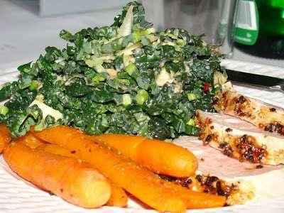 salade de chou fris noir vinaigrette au citron et au beurre d 39 amande 2 pts recette ptitchef. Black Bedroom Furniture Sets. Home Design Ideas