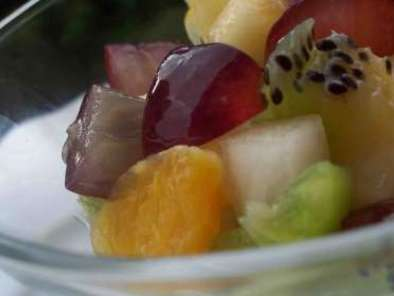 Salade de fruits & sa mousse en verrine, Photo 3