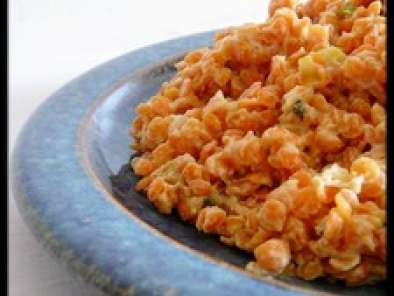 salade de lentilles corail au lait de coco recette ptitchef. Black Bedroom Furniture Sets. Home Design Ideas