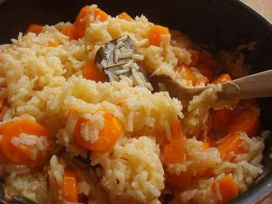 salade de pois chiches et gratin de carottes au riz. Black Bedroom Furniture Sets. Home Design Ideas