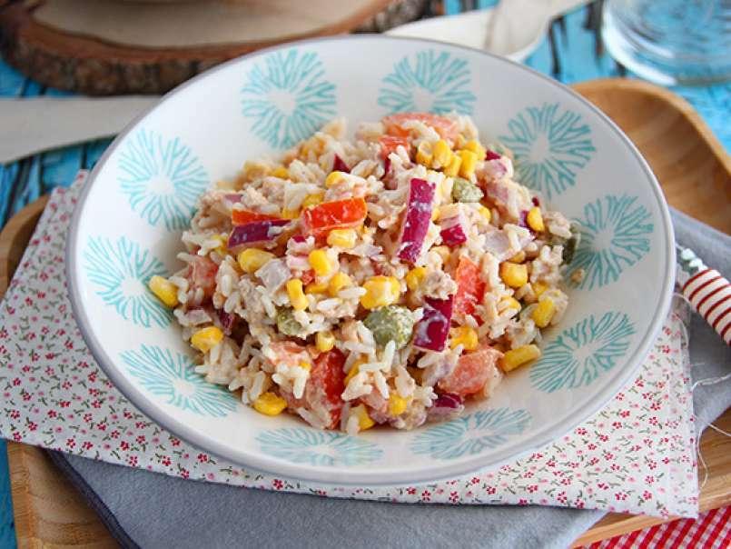 Salade de riz (facile et rapide), Recette Ptitchef