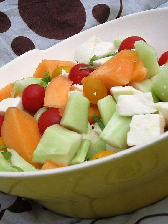 Salade estivale recette ptitchef for Entree estivale