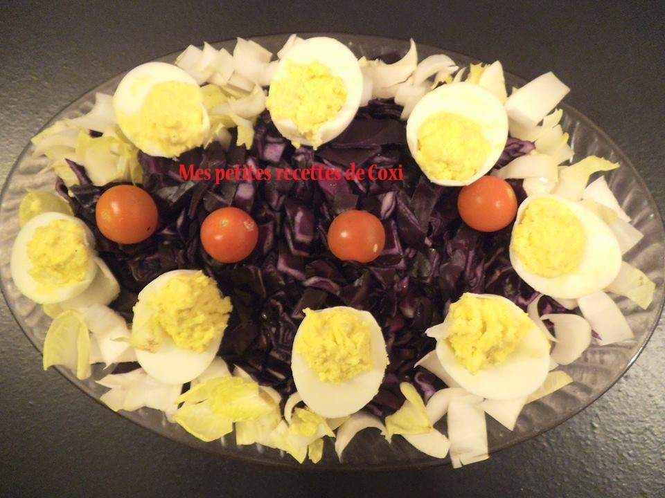 Salade festive recette ptitchef for Entrees festives faciles