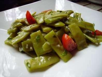 salade fraicheur de haricots vert plats au gingembre et persil recette ptitchef. Black Bedroom Furniture Sets. Home Design Ideas
