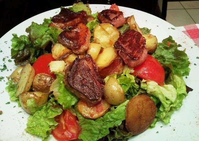 Salade Landaise Recette Ptitchef
